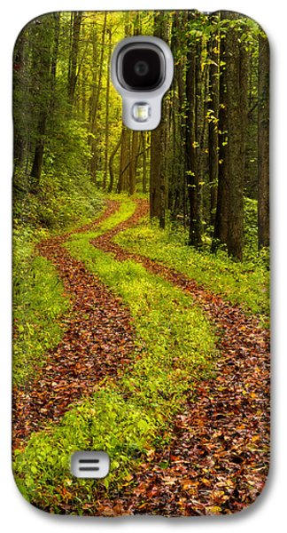 Pathway Galaxy S4 Cases - Obscured Galaxy S4 Case by Chad Dutson