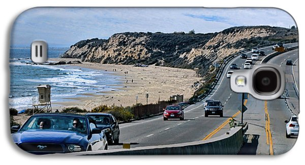 Coast Hwy Ca Galaxy S4 Cases - Oc On Pch In Ca Galaxy S4 Case by Jennie Breeze
