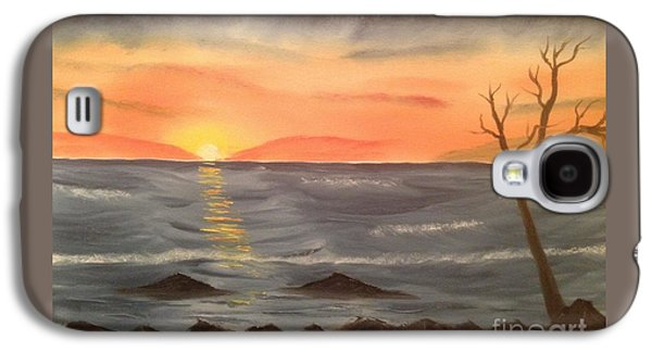 Ocean At Sunset Galaxy S4 Case by Tim Blankenship