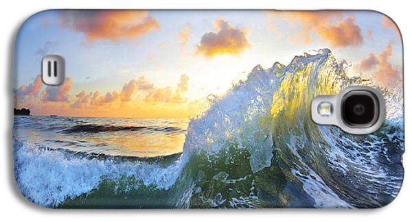 Ocean Art Photography Galaxy S4 Cases - Ocean Bouquet Galaxy S4 Case by Sean Davey