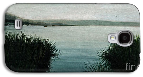 Cape Cod Paintings Galaxy S4 Cases - Ocean Grass Galaxy S4 Case by Paul Walsh