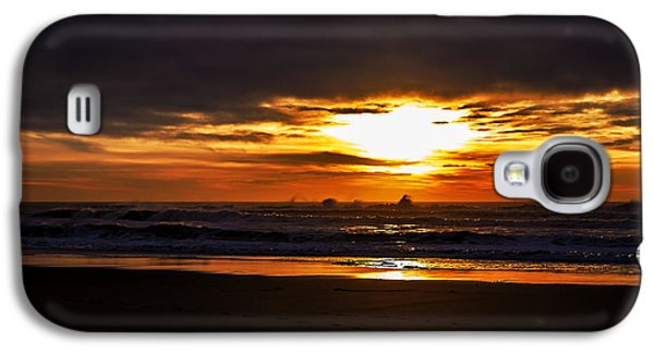 Poster Art Galaxy S4 Cases - Ocean Galaxy S4 Case by Jb Atelier