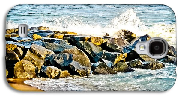 Original Art Photographs Galaxy S4 Cases - Ocean Jetty Galaxy S4 Case by Colleen Kammerer