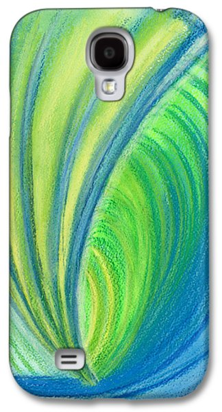 Thought Drawings Galaxy S4 Cases - Ocean of Dark and Light Galaxy S4 Case by Kelly K H B