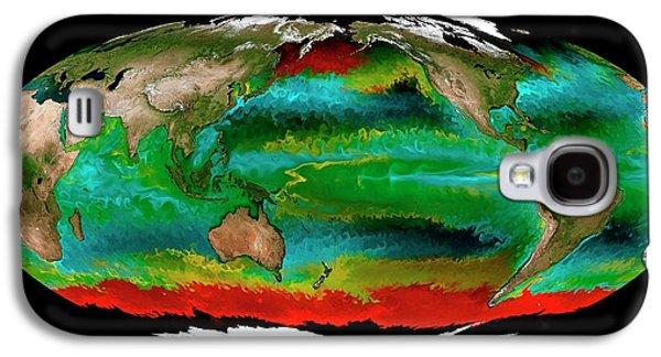 Ocean Phytoplankton Types Galaxy S4 Case by Mit Darwin Project/ecco2/mitgcm/nasa