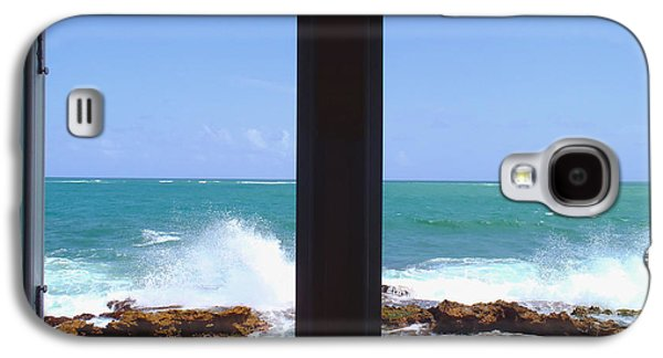 Fort Pierce Galaxy S4 Cases - Ocean View Galaxy S4 Case by Carey Chen