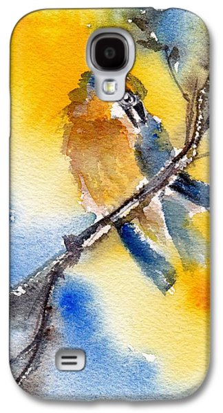 Yellow Beak Paintings Galaxy S4 Cases - October Second Galaxy S4 Case by Anne Duke