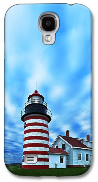 Coastal Maine Galaxy S4 Cases - October Sky at Quoddy Head Galaxy S4 Case by Bill Caldwell -        ABeautifulSky Photography
