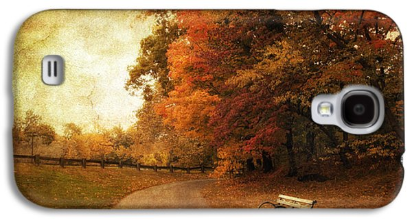 Autumn Landscape Galaxy S4 Cases - October Tones Galaxy S4 Case by Jessica Jenney