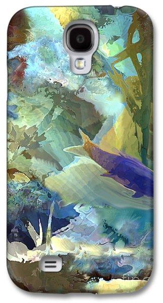 Plankton Digital Galaxy S4 Cases - Octopus Garden 1  Galaxy S4 Case by Ursula Freer