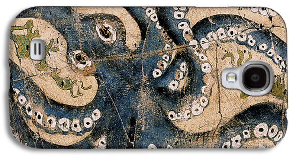 Recently Sold -  - Ancient Galaxy S4 Cases - Octopus - Study No. 1 Galaxy S4 Case by Steve Bogdanoff