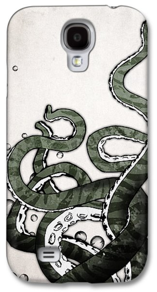 Monster Galaxy S4 Cases - Octopus Tentacles Galaxy S4 Case by Nicklas Gustafsson