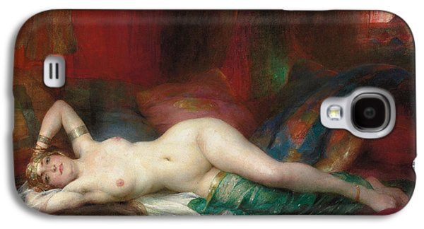 Busts Galaxy S4 Cases - Odalisque Galaxy S4 Case by Henri Adrien Tanoux