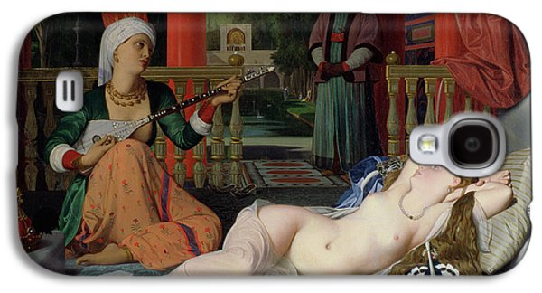 Odalisque With Slave Galaxy S4 Case by Ingres