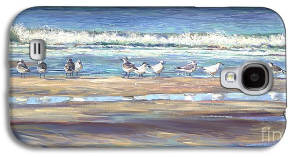 Beach Landscape Galaxy S4 Cases - Odd Man Out Galaxy S4 Case by Laurie Hein