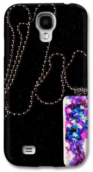 Abstract Nature Jewelry Galaxy S4 Cases - Of Earth Domino Pendant Galaxy S4 Case by Beverley Harper Tinsley