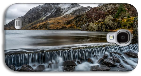 Winter Digital Art Galaxy S4 Cases - Ogwen Weir Galaxy S4 Case by Adrian Evans