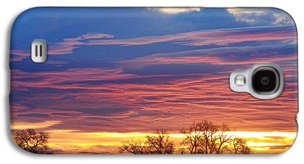 Landscape Acrylic Prints Galaxy S4 Cases - Oh What a Beautiful Morning Galaxy S4 Case by James BO  Insogna