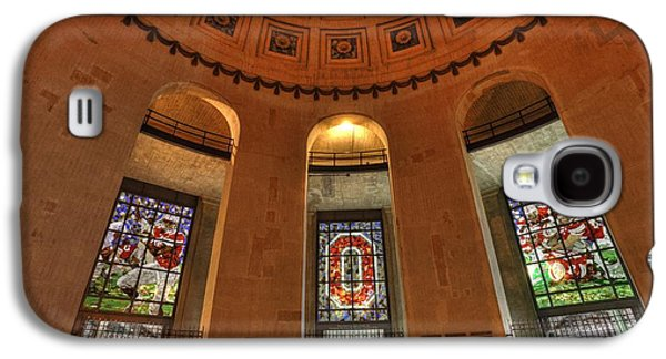 Best Sellers Photographs Galaxy S4 Cases - Ohio Stadium Galaxy S4 Case by David Bearden