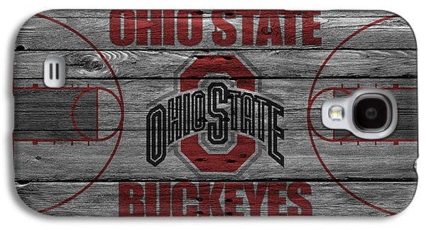 Dunk Galaxy S4 Cases - Ohio State Buckeyes Galaxy S4 Case by Joe Hamilton