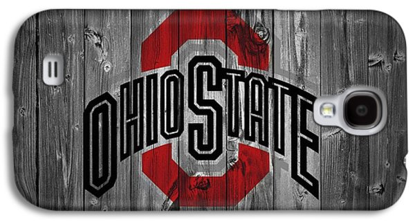 States Mixed Media Galaxy S4 Cases - Ohio State University Galaxy S4 Case by Dan Sproul