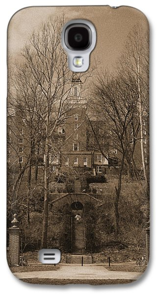 Ohio University Bryan Hall Sepia Galaxy S4 Case by Karen Adams