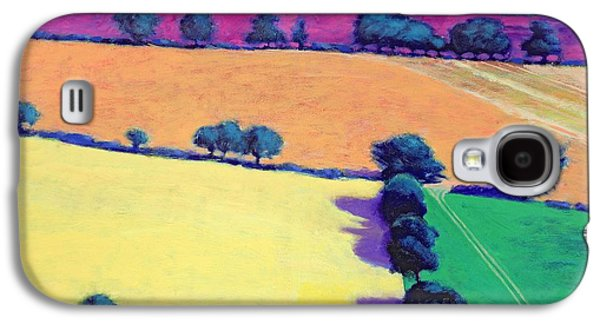 Landscapes Photographs Galaxy S4 Cases - Oil Acrylic On Card Galaxy S4 Case by Paul Powis