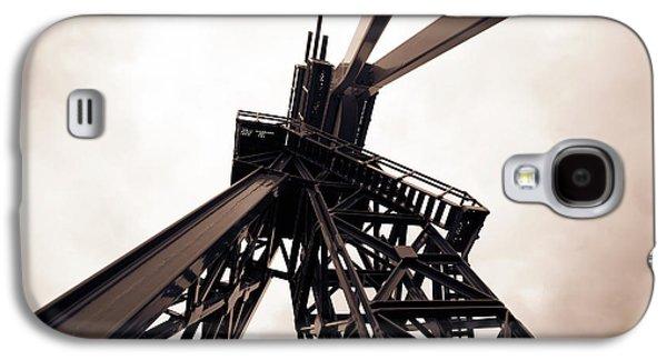 Oil Drill Galaxy S4 Case by Wladimir Bulgar