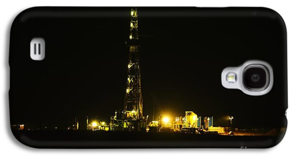 Oil Rig Galaxy S4 Case by Jeff Swan