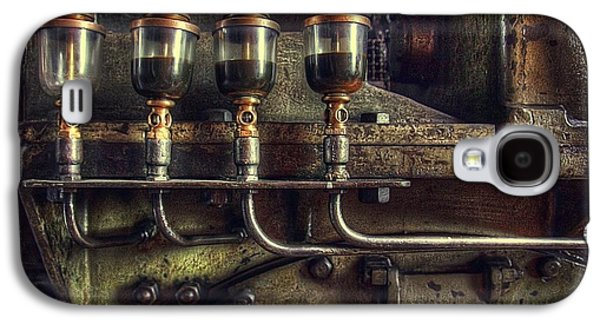Machinery Photographs Galaxy S4 Cases - Oil Valves Galaxy S4 Case by Carlos Caetano