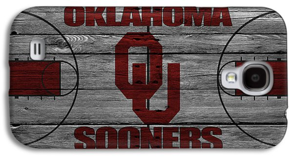 Dunk Galaxy S4 Cases - Oklahoma Sooners Galaxy S4 Case by Joe Hamilton