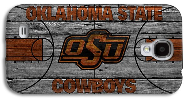 Dunk Galaxy S4 Cases - Oklahoma State Cowboys Galaxy S4 Case by Joe Hamilton