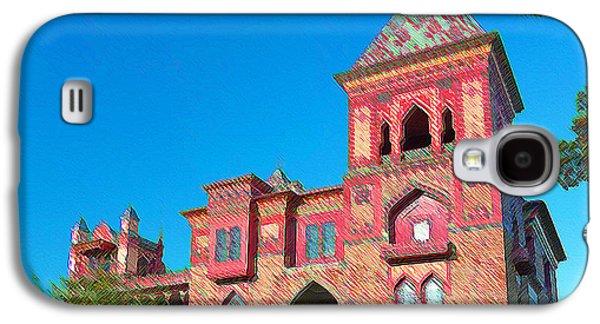 Church Pillars Paintings Galaxy S4 Cases - Olana 13 Galaxy S4 Case by Lanjee Chee