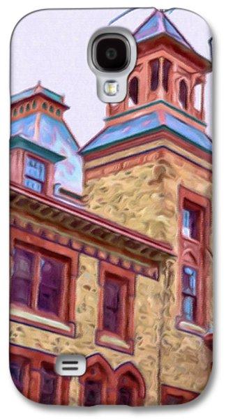 Church Pillars Paintings Galaxy S4 Cases - Olana 3 Galaxy S4 Case by Lanjee Chee