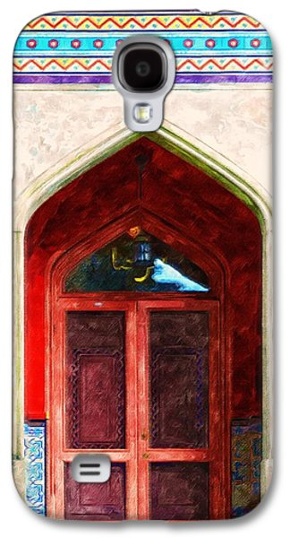 Church Pillars Paintings Galaxy S4 Cases - Olana 4 Galaxy S4 Case by Lanjee Chee