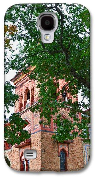 Church Pillars Paintings Galaxy S4 Cases - Olana 5 Galaxy S4 Case by Lanjee Chee