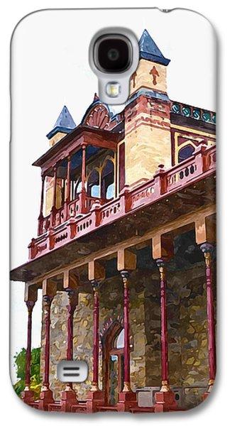 Church Pillars Paintings Galaxy S4 Cases - Olana 7 Galaxy S4 Case by Lanjee Chee
