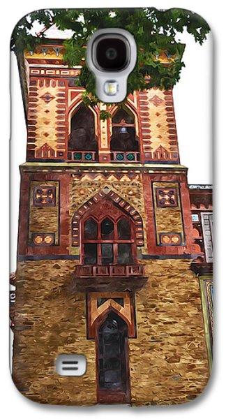 Church Pillars Paintings Galaxy S4 Cases - Olana 8 Galaxy S4 Case by Lanjee Chee