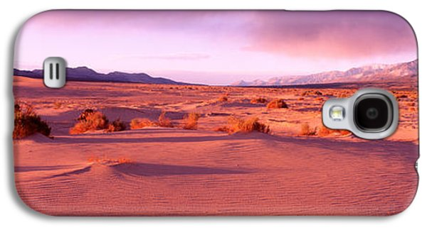 Dry Lake Galaxy S4 Cases - Olancha Sand Dunes, Olancha Galaxy S4 Case by Panoramic Images