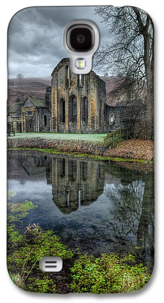 Fish Pond Galaxy S4 Cases - Old Abbey Galaxy S4 Case by Adrian Evans