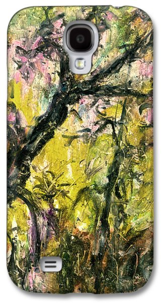 Nature Abstract Pastels Galaxy S4 Cases - Old Acacia Galaxy S4 Case by Yuri Lushnichenko