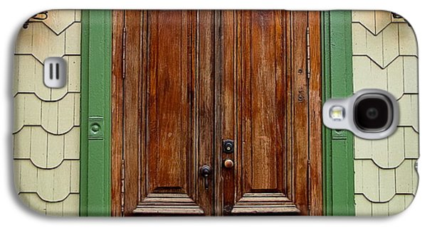 Original Photographs Galaxy S4 Cases - Old African Doors Galaxy S4 Case by Colleen Kammerer