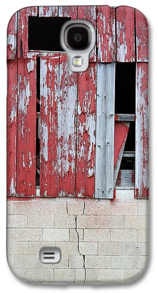 Old Barns Paintings Galaxy S4 Cases - Old Barn - 2 Galaxy S4 Case by John Lautermilch