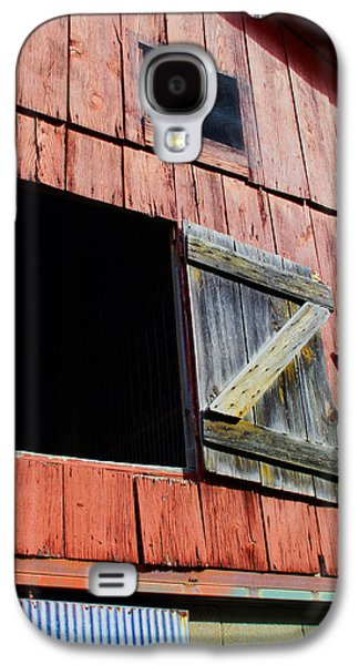 Old Barns Paintings Galaxy S4 Cases - Old Barn - 3 Galaxy S4 Case by John Lautermilch