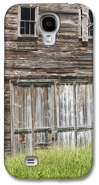 Old Barns Galaxy S4 Cases - Old Barn In Maine Galaxy S4 Case by Keith Webber Jr