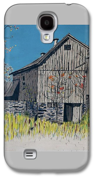 Old Barn Galaxy S4 Case by Linda Simon