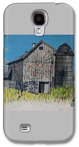 Old Barn Galaxy S4 Case by Linda Simon