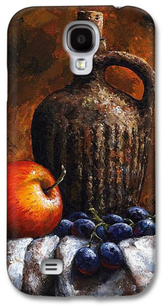 Old Bottle And Fruit Galaxy S4 Case by Emerico Imre Toth