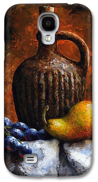 Old Bottle And Fruit II Galaxy S4 Case by Emerico Imre Toth