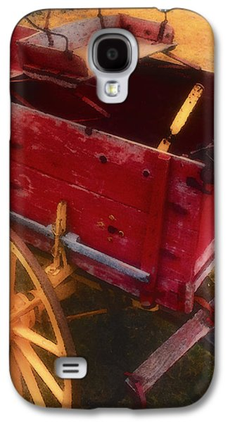 Wooden Wagons Galaxy S4 Cases - Old Buck Galaxy S4 Case by Stephen Anderson